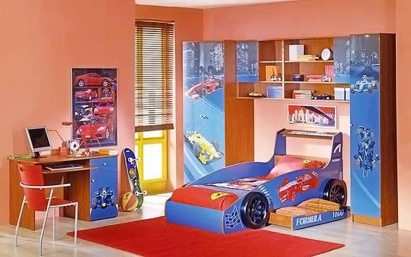 Мебель и предметы интерьера для мальчика