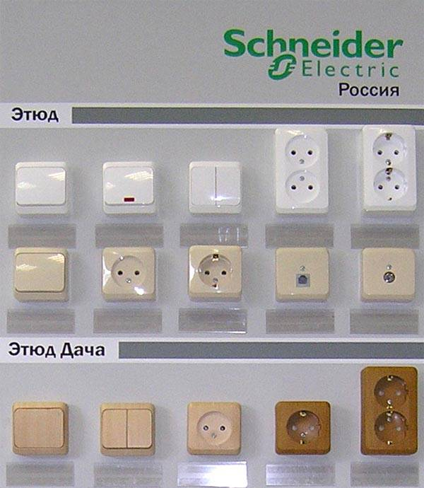 Продукция компании Schneider Electric