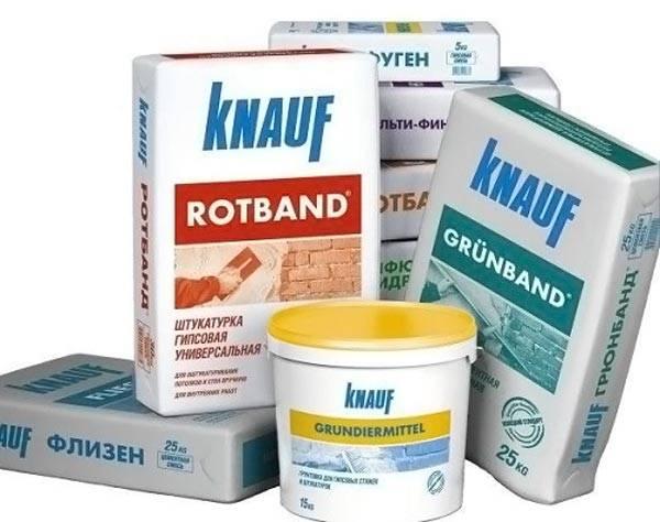 Продукция компании Knauf