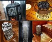 Варианты размещения электрической печи для сауны