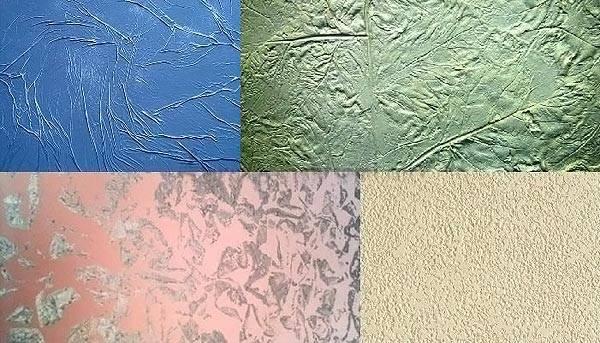 Декоративная штукатурка для внутренней отделки стен - типы
