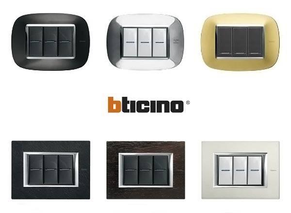 Розетки и выключатели Bticino премиального сегмента