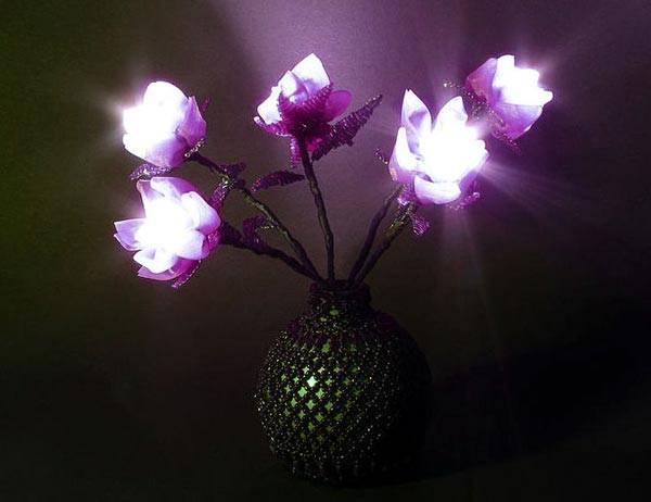 В ночниках не используются газоразрядные лампы и лампы накаливания