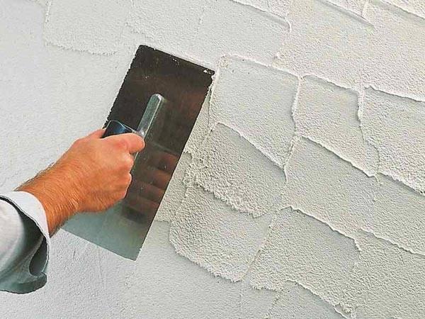 Декоративная штукатурка для внутренней отделки стен - этапы