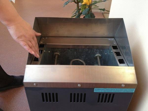Монтаж электрической печи можно выполнить своими руками