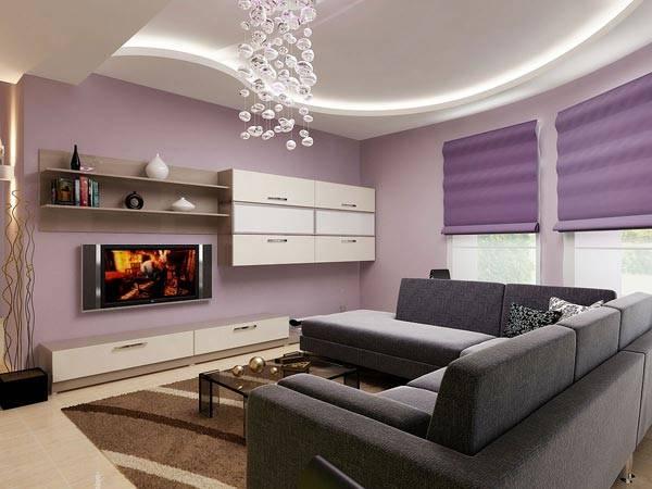 Практичная и стильная гостиная