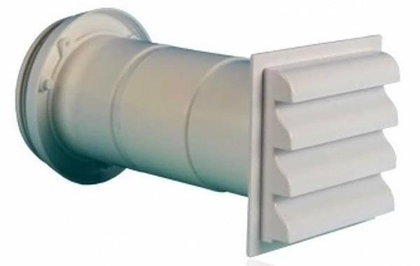 Вытяжной клапан для канала с круглым сечением
