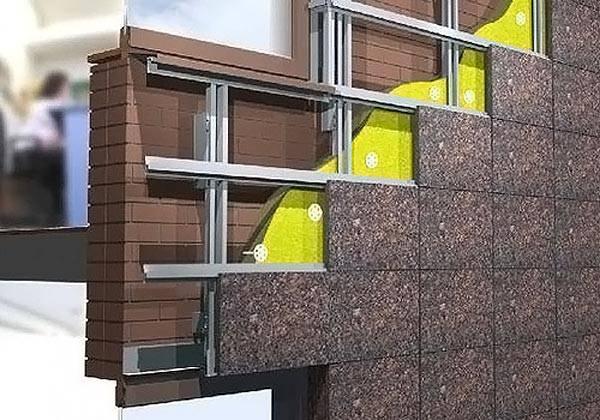Отделочные материалы для фасадов частных домов - вентилируемый фасад
