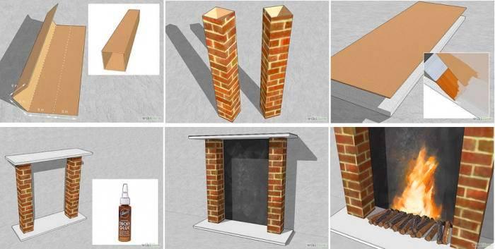 Более интересной может стать конструкция с колоннами