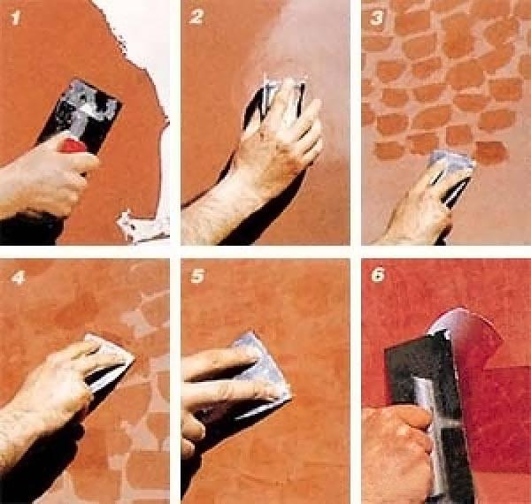 Пошаговая инструкция, как наносить фактурную штукатурку
