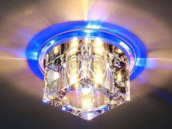 Накладной декоративный светильник