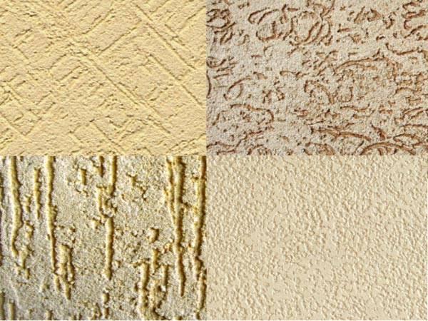 Текстуры поверхностей, которые можно получить при помощи декоративной штукатурки