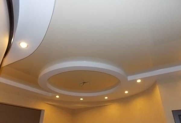 Разноуровневый потолок из ПВХ
