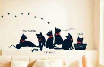 Трафареты кошек