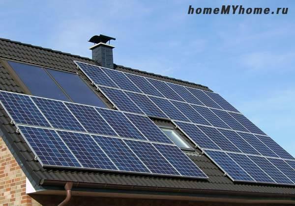 Солнечная батарея для дачи комплект