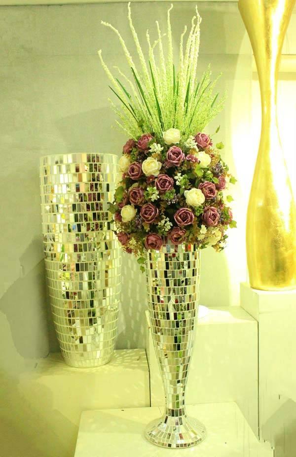 Искусственные цветы для домашнего интерьера