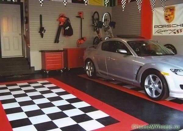 Пол в гараже что лучше