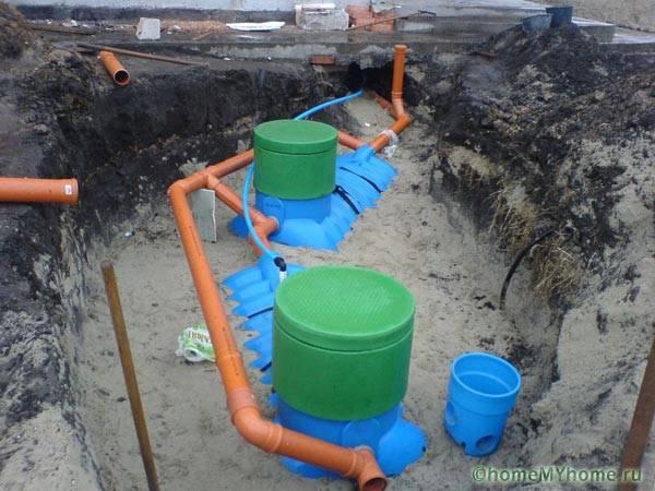 Обвязка резервуара