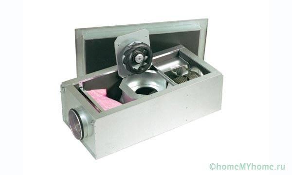 Приточная установка с ТЭНами и фильтрацией