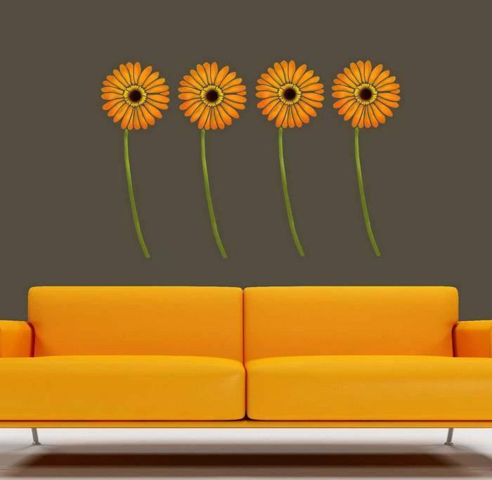 Трафареты цветов своими руками шаблоны фото 813