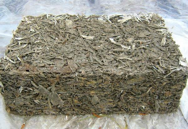 Цементная смесь с органическим наполнителем
