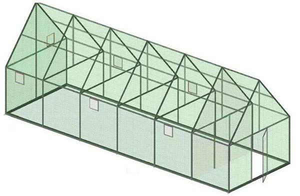 Схема каркаса №2