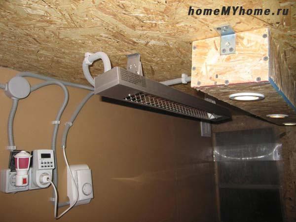 Пример практического подключения терморегулятора
