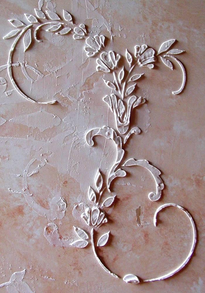 Пример барельефной композиции