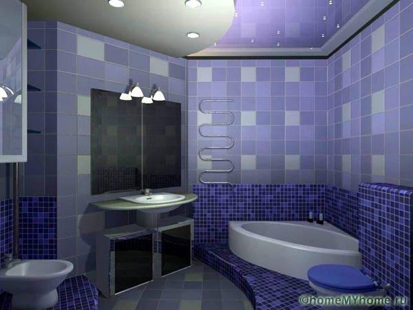 Плитка для ванной комнаты, фото дизайн