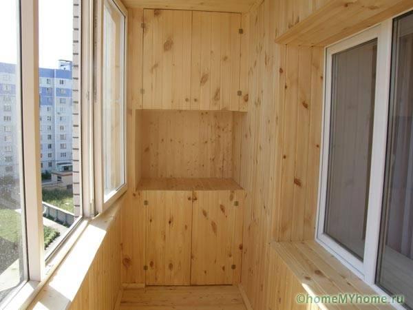 Использование вагонки для отделки стен и потолка