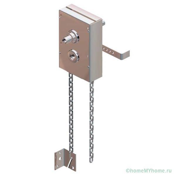 Ручной цепной привод для секционных ворот