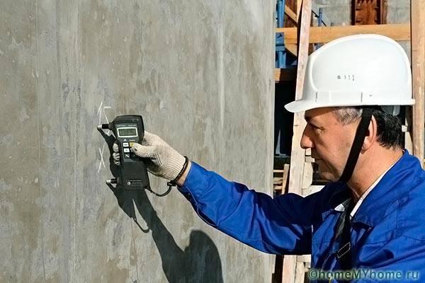 Проверка влажности конструкционных материалов