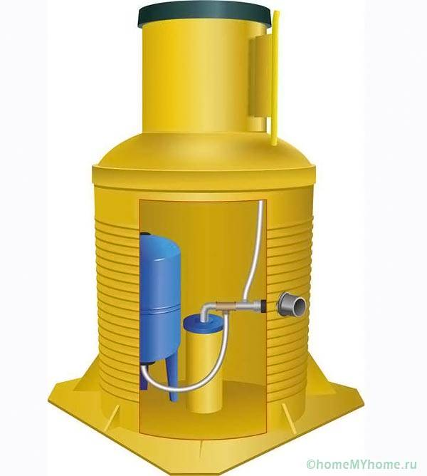 Кессон для скважины водозабора