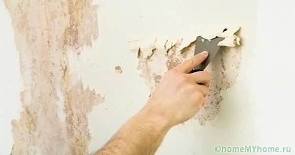 Очистка поверхностей перед окрашиванием