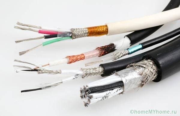 Медные и алюминиевые провода
