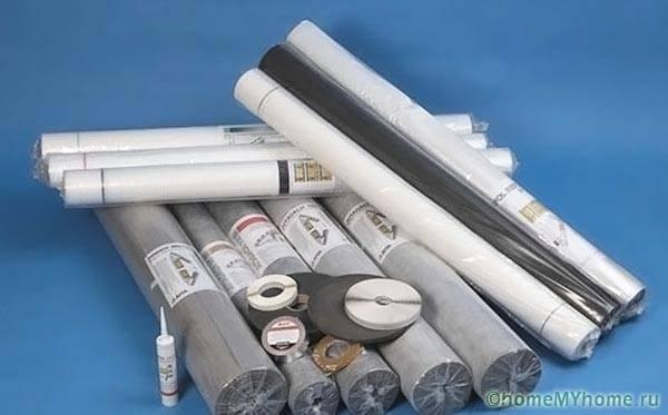 Пленочные пароизоляционные материалы