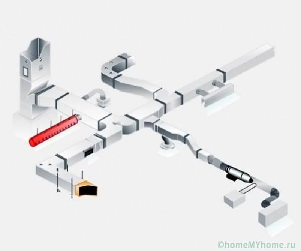 Модульная вентсистема