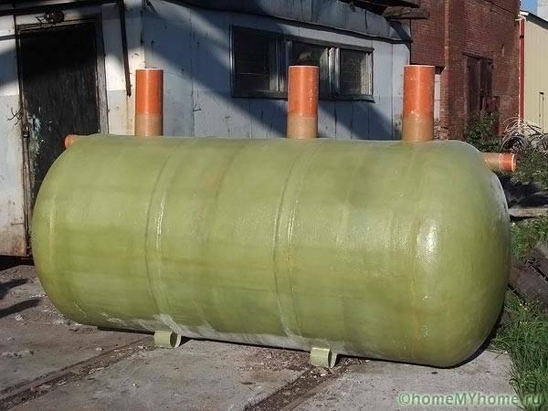 Стеклопластиковая подземная емкость
