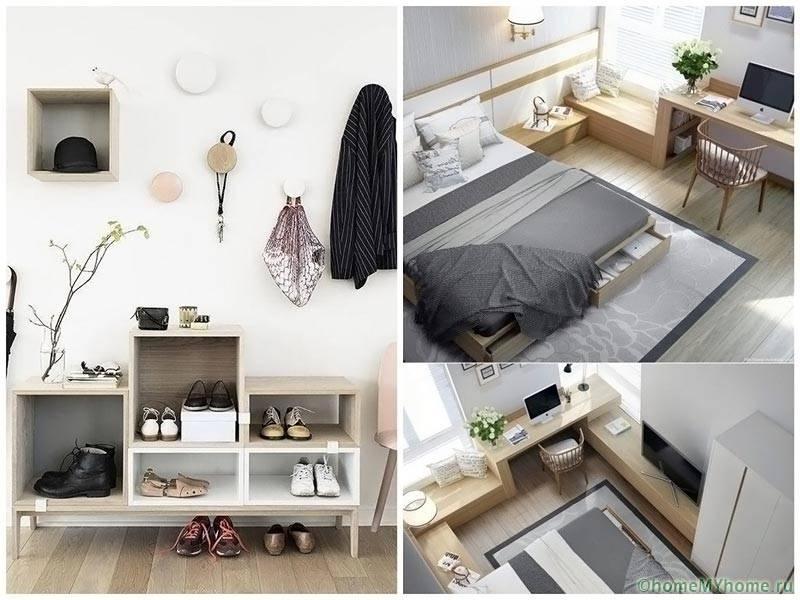 Современная квартира должна быть функциональной и эргономичной