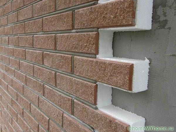 Приклеивание фасадных термопанелей