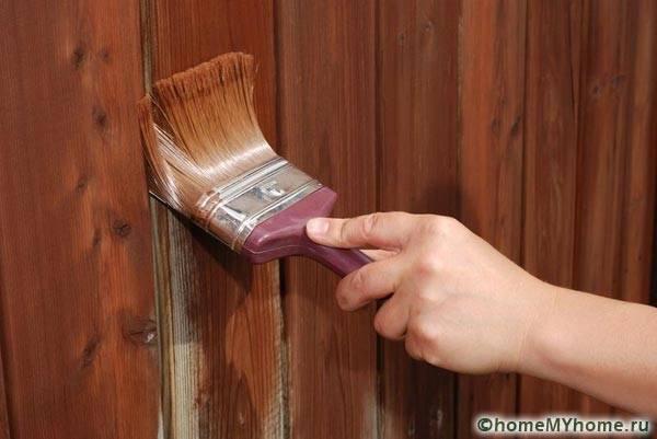 Пропитка древесины защитным составом