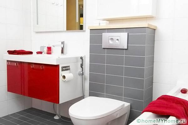 Гигиенический душ: идеален для стесненных условий