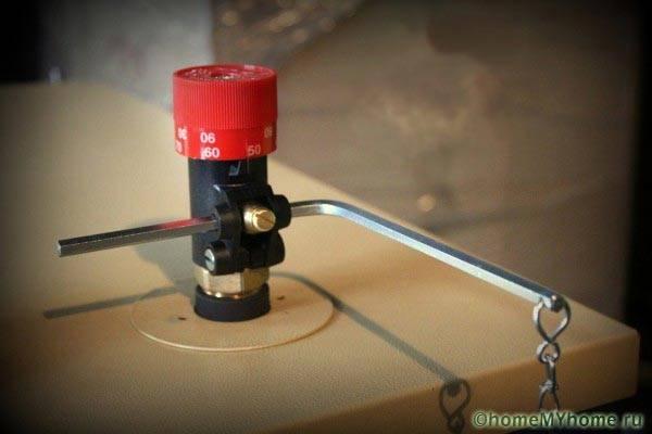Механический регулятор подачи воздуха