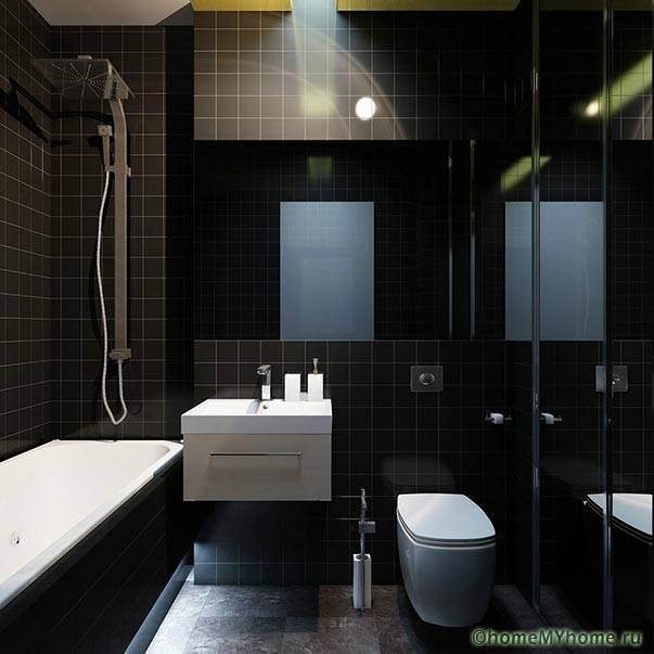 Пример стильного интерьера небольшого помещения