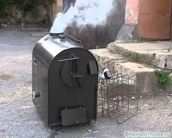 Белый дым – признак полного сгорания топлива