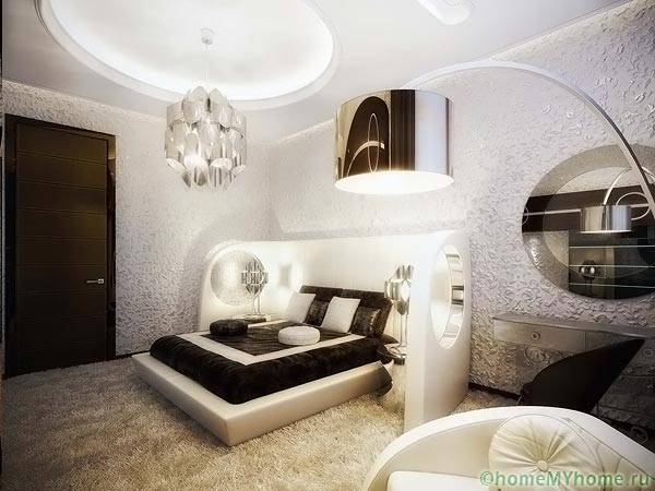Спальня с стиле модерн