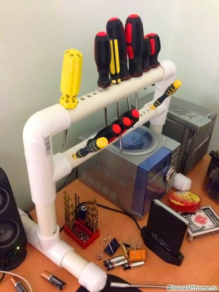PVC Projects Organize Home 23 - Съемники своими руками для гаража