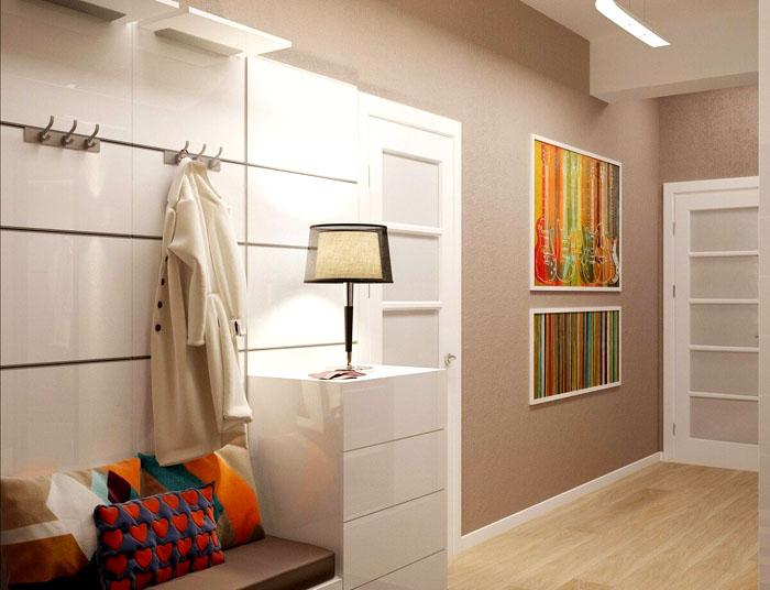 Стильные вешалки легко заменят шкаф для верхней одежды
