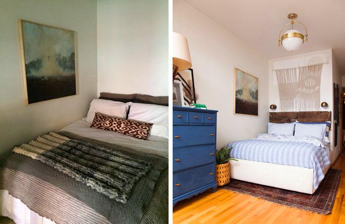 Старая квартира неплохо вписалась в обновлённый интерьер