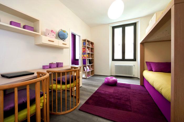 Как можно превратить детскую для одного ребёнка в комнату для двоих